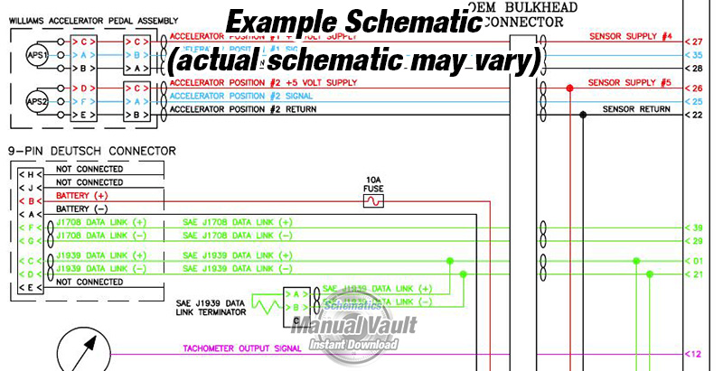 Cummins wiring diagram example